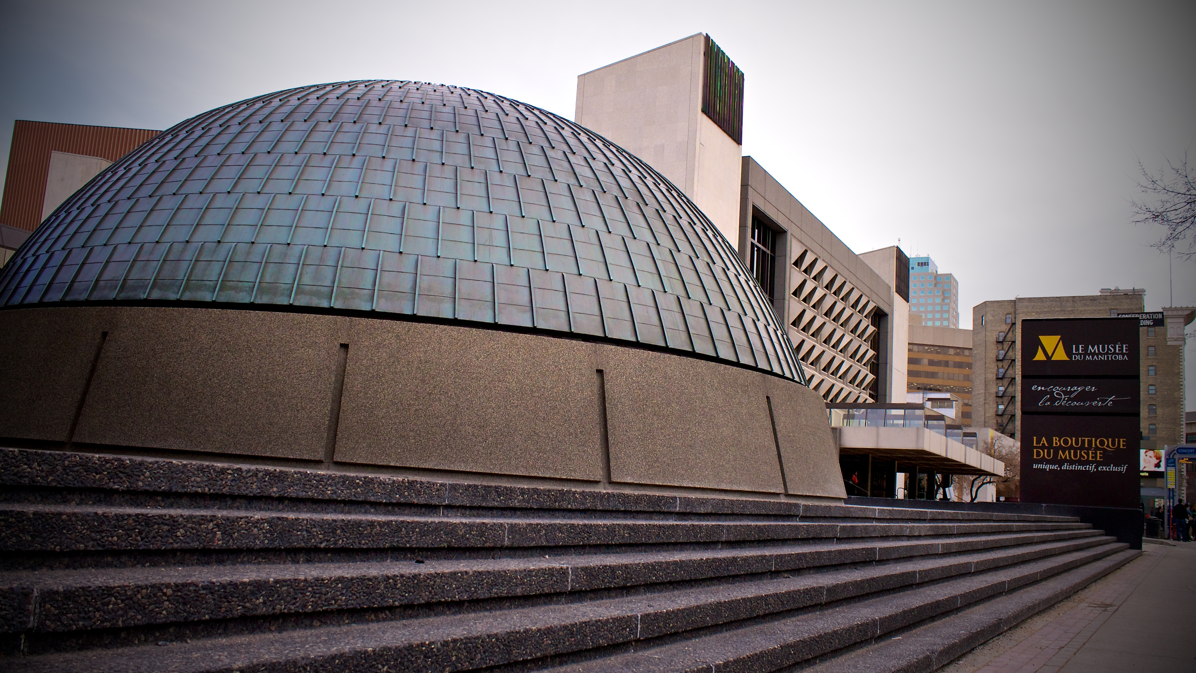 Manitoba Museum- one of the attractions in Winnipeg