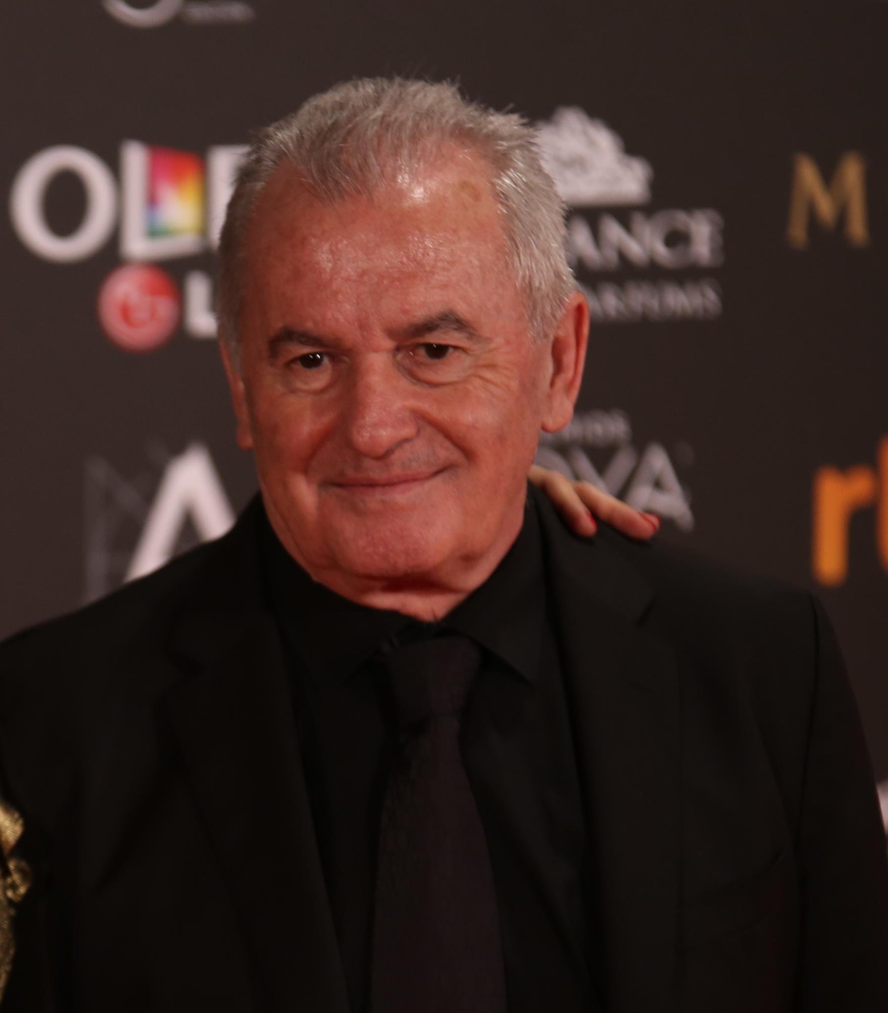 Víctor Manuel en los Premios Goya 2017