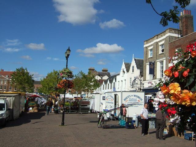 Marketplace, Wisbech - geograph.org.uk - 1504356