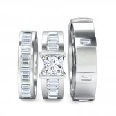 Matching Bridal Set Rings
