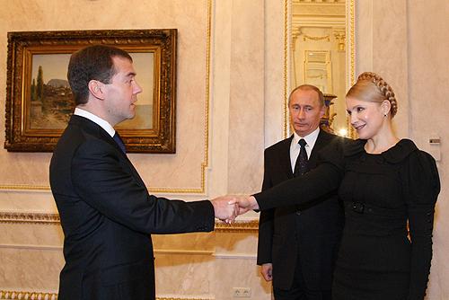 Тимошенко боится Дмитрия Медведева?