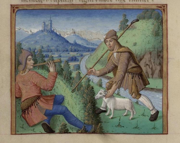 Meliboeus and Tityrus