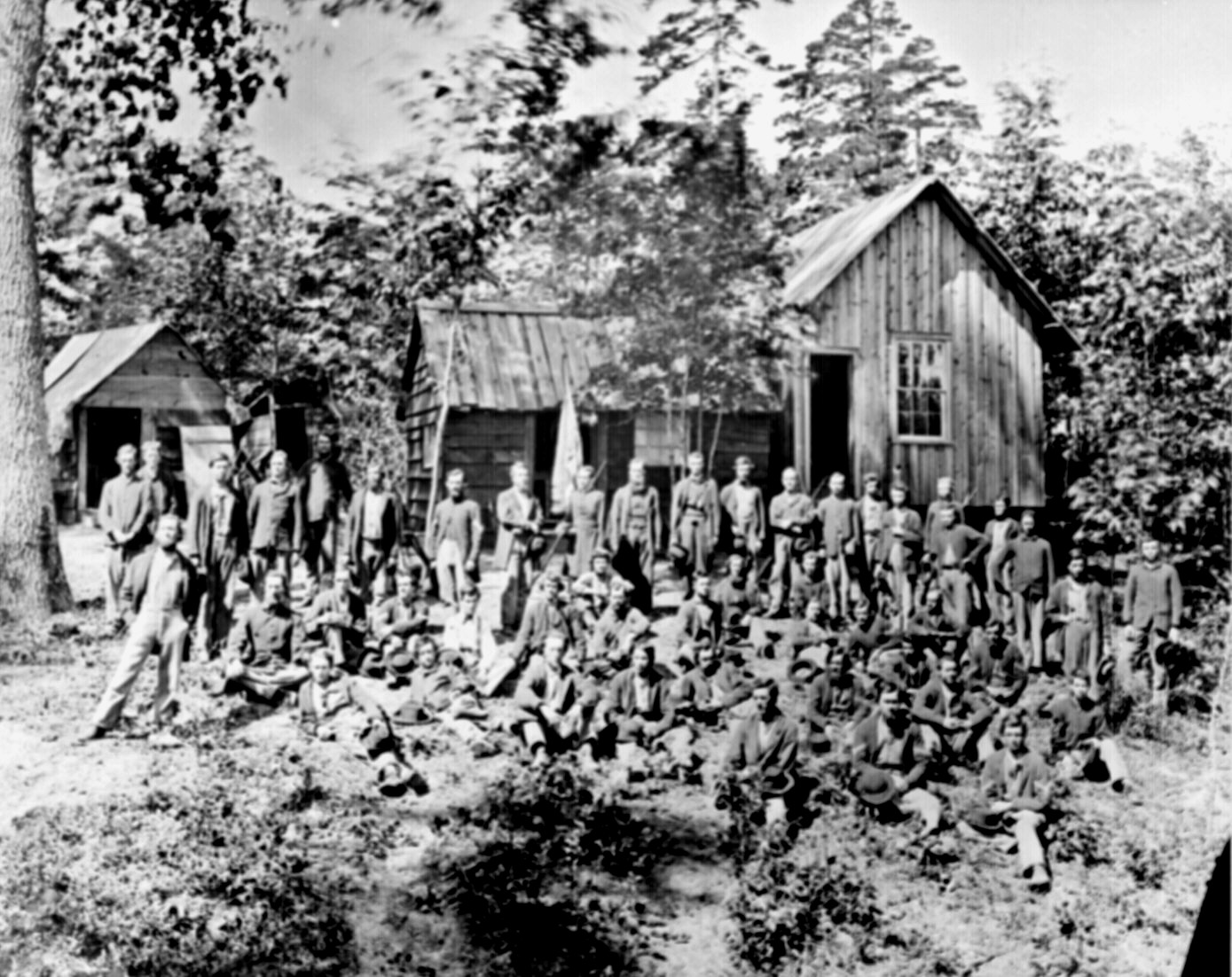 The 21st Michigan Infantry, a company of William Tecumseh Sherman's veterans.