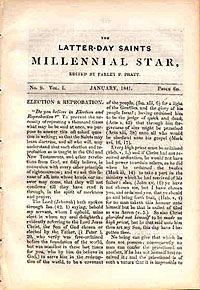 <i>Millennial Star</i> Mormon periodical
