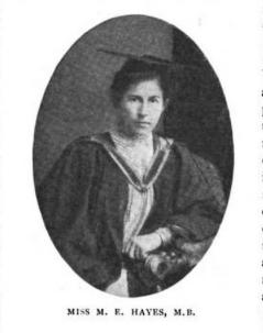 Marie Elizabeth Hayes Irish medical missionary to India