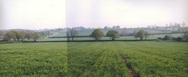 Naseby battlefield from the Royalist positions on Dust Hill - geograph.org.uk - 888335