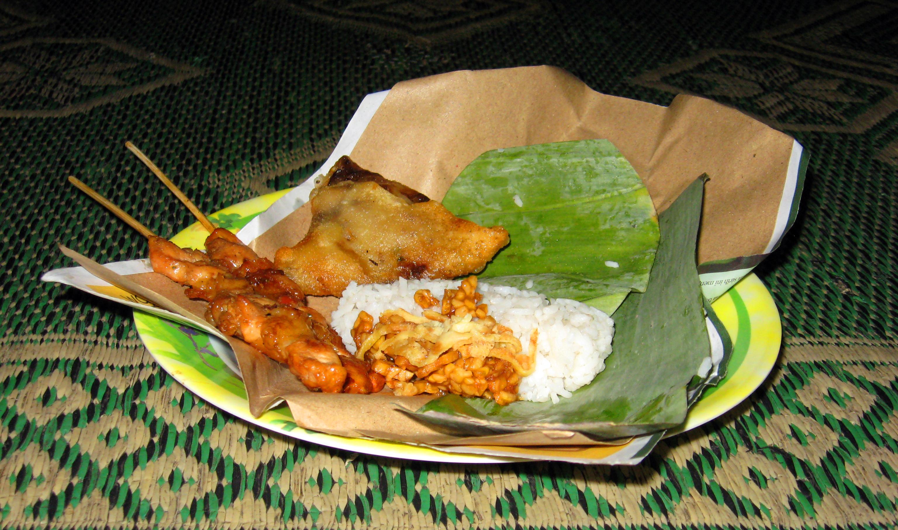 Description nasi kucing langgi