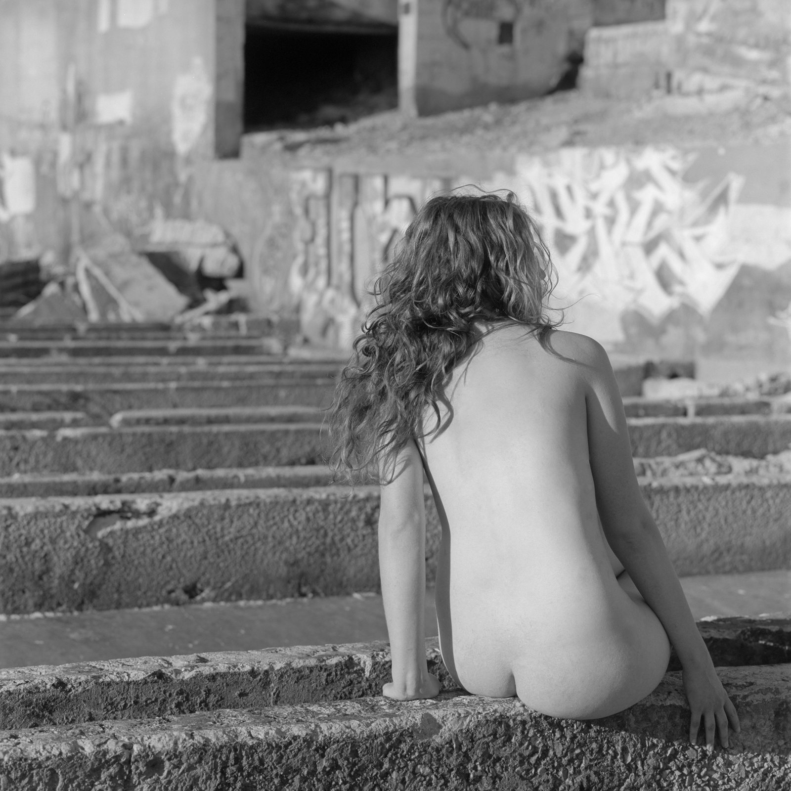 Sorry, Black and white publick nude