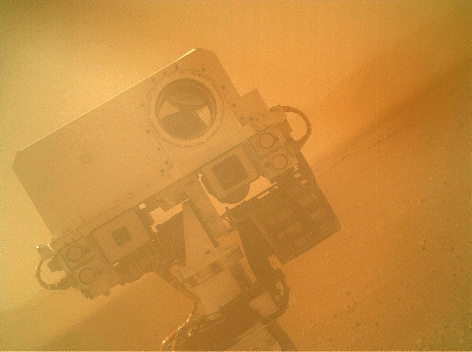 -Mars Curiosity Rover Takes Self Portrait Original Space Selfie jpgMars Curiosity Selfie
