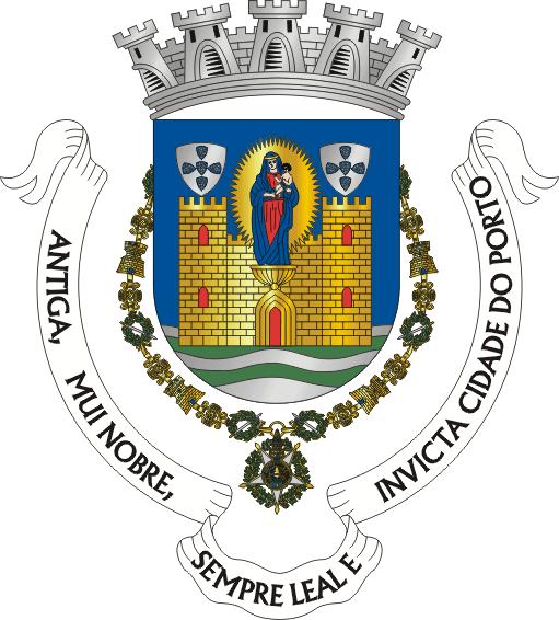 Resultado de imagem para brasão da cidade do porto