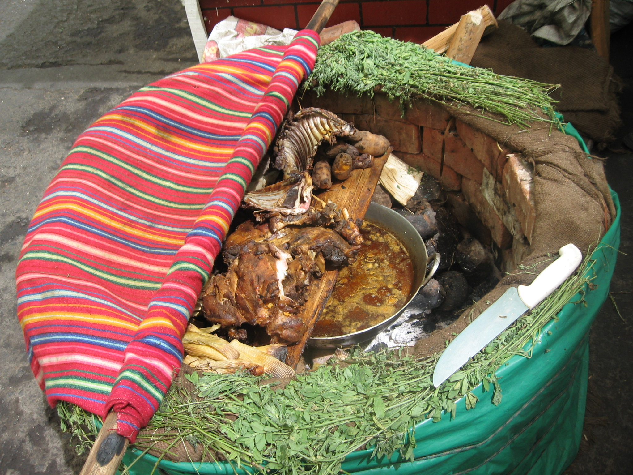Pachamanca De Peru