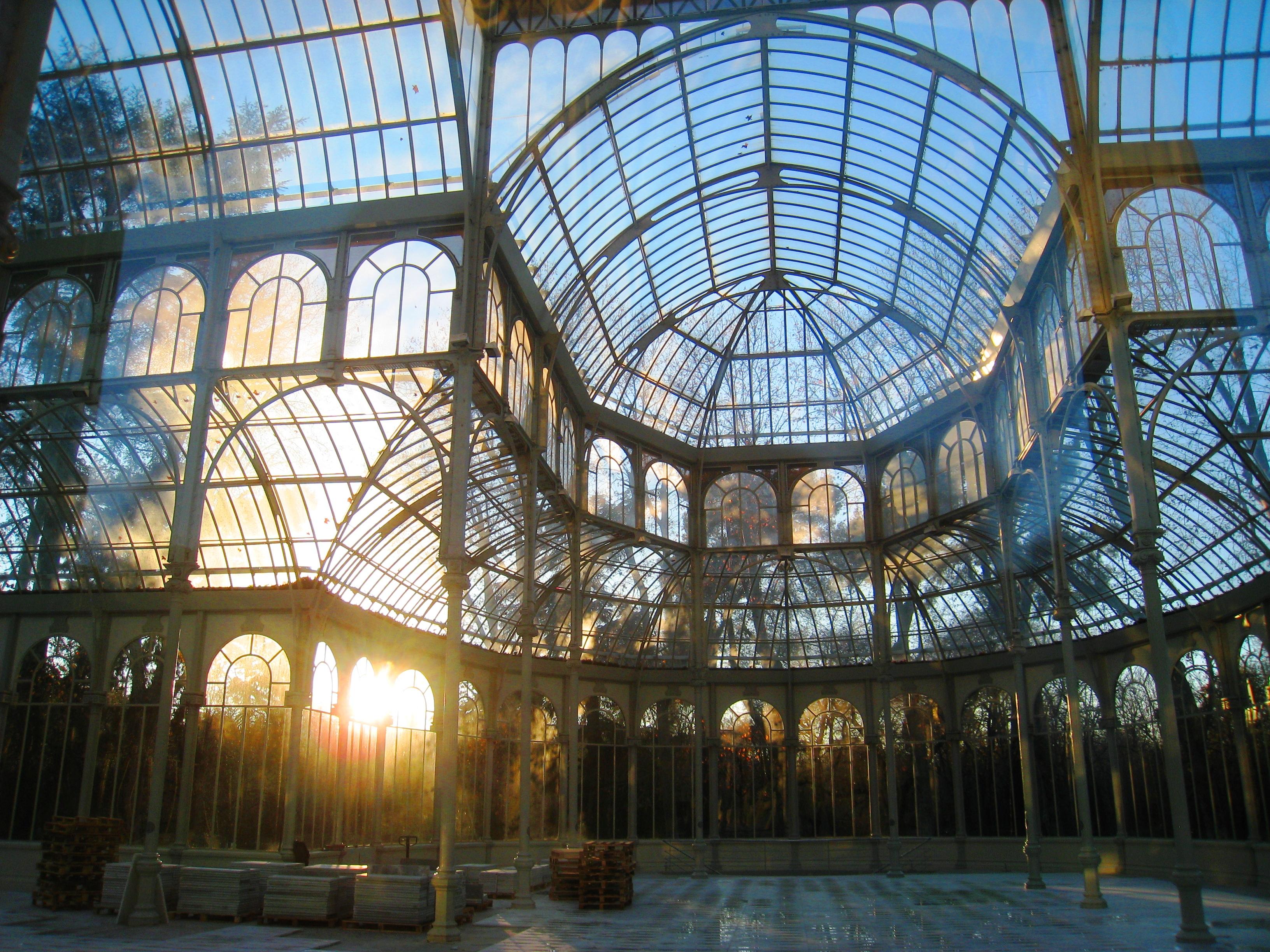 File Palacio De Cristal Parque Del Buen Retiro Madrid