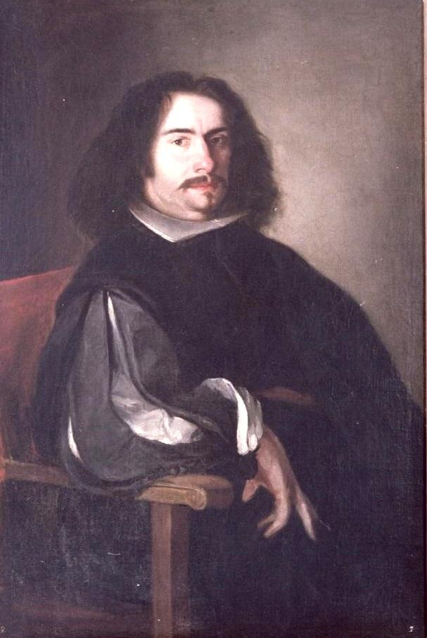 Agustín Moreto y Cavana's portrait by painter [[Juan de Pareja