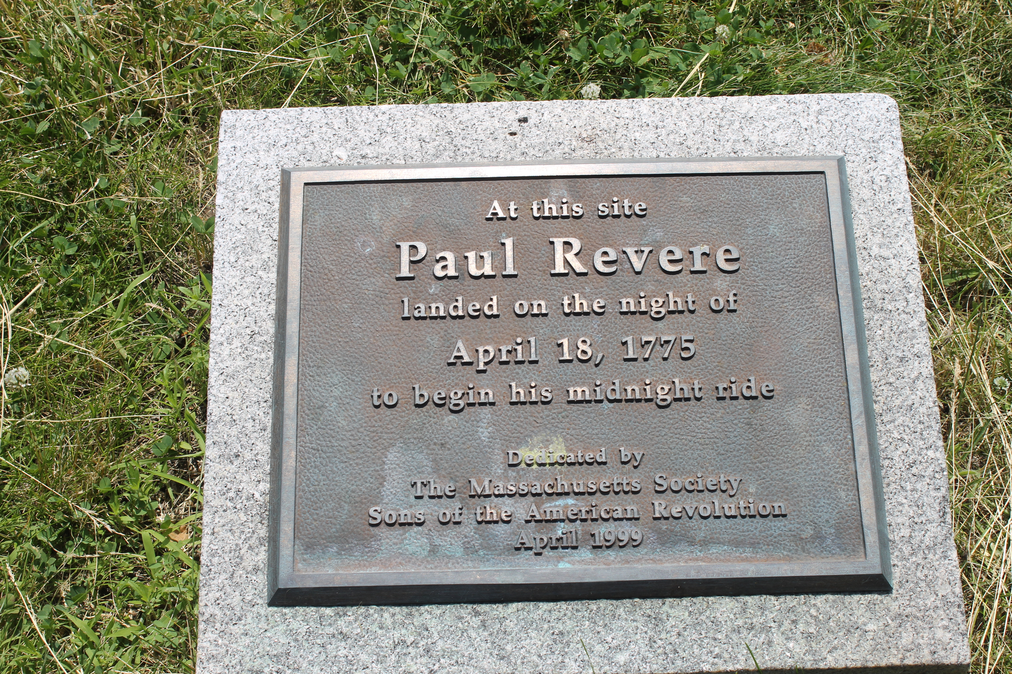 file paul revere marker boston harbor img 2812 jpg wikimedia commons
