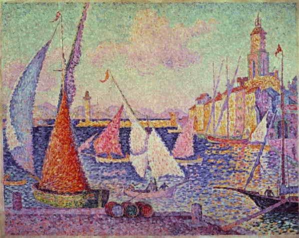 File:Paul Signac Port de Saint-Tropez.jpg Поль Синьяк. Порт Сент-Тропе. 1899 г. Сен-Тропе (Saint-Tropez), Лазурный берег Франции - путеводитель по городу