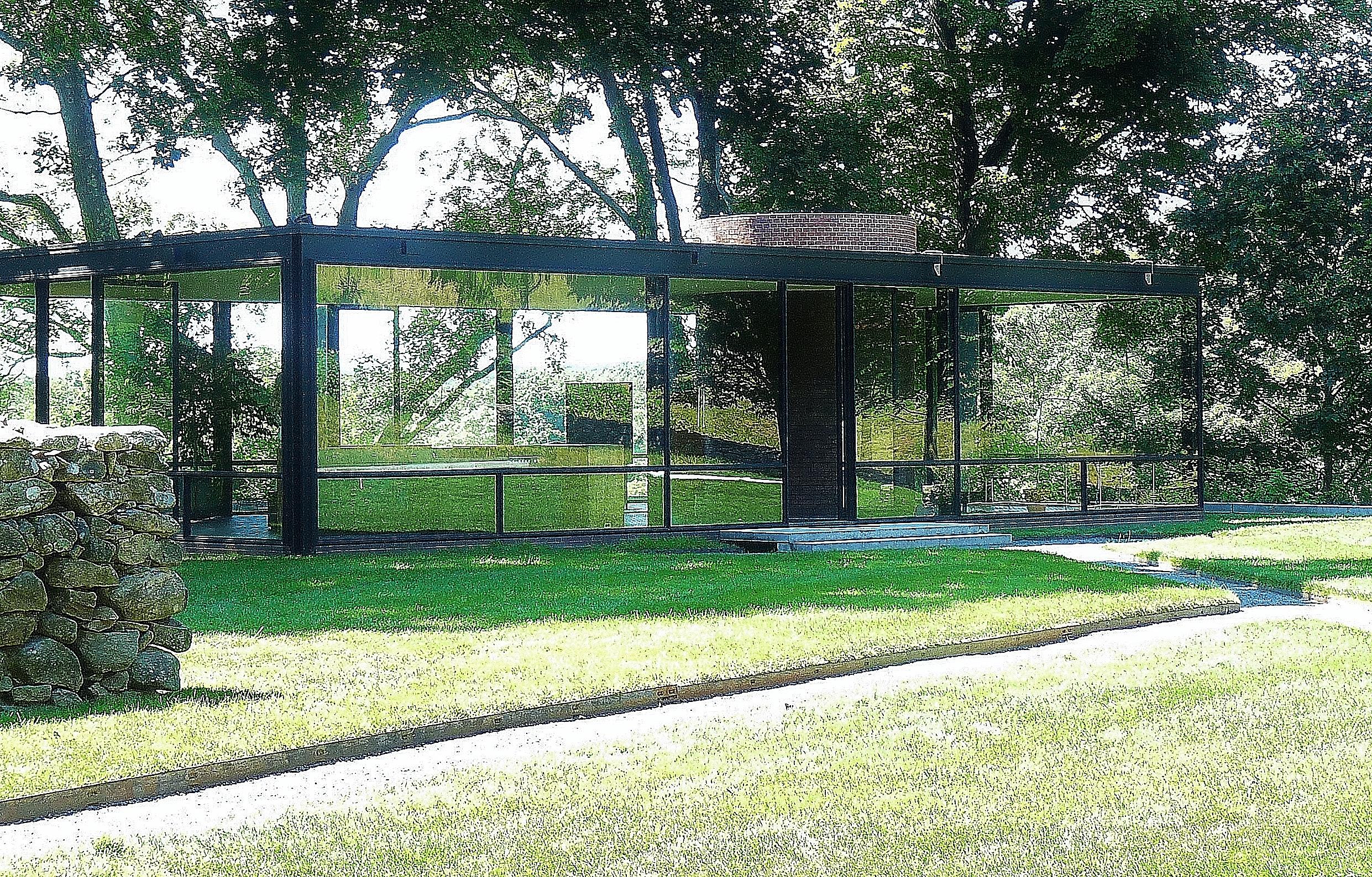 Philip Johnson Glass House file:philip johnson glass house the house - wikimedia