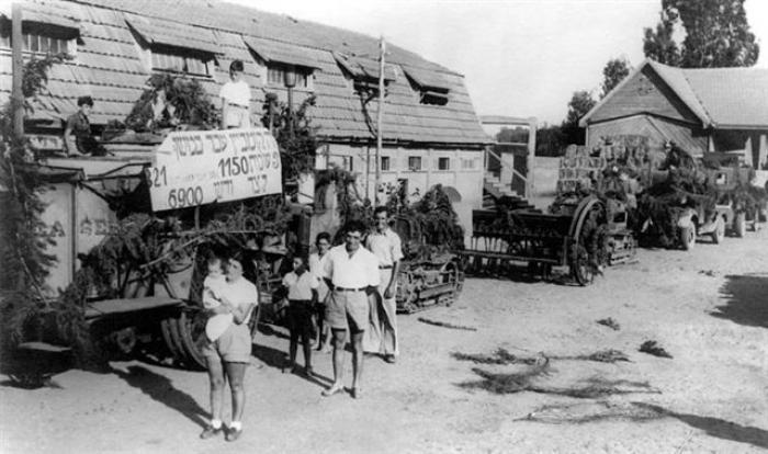גן-שמואל-חג הביכורים 1937-8