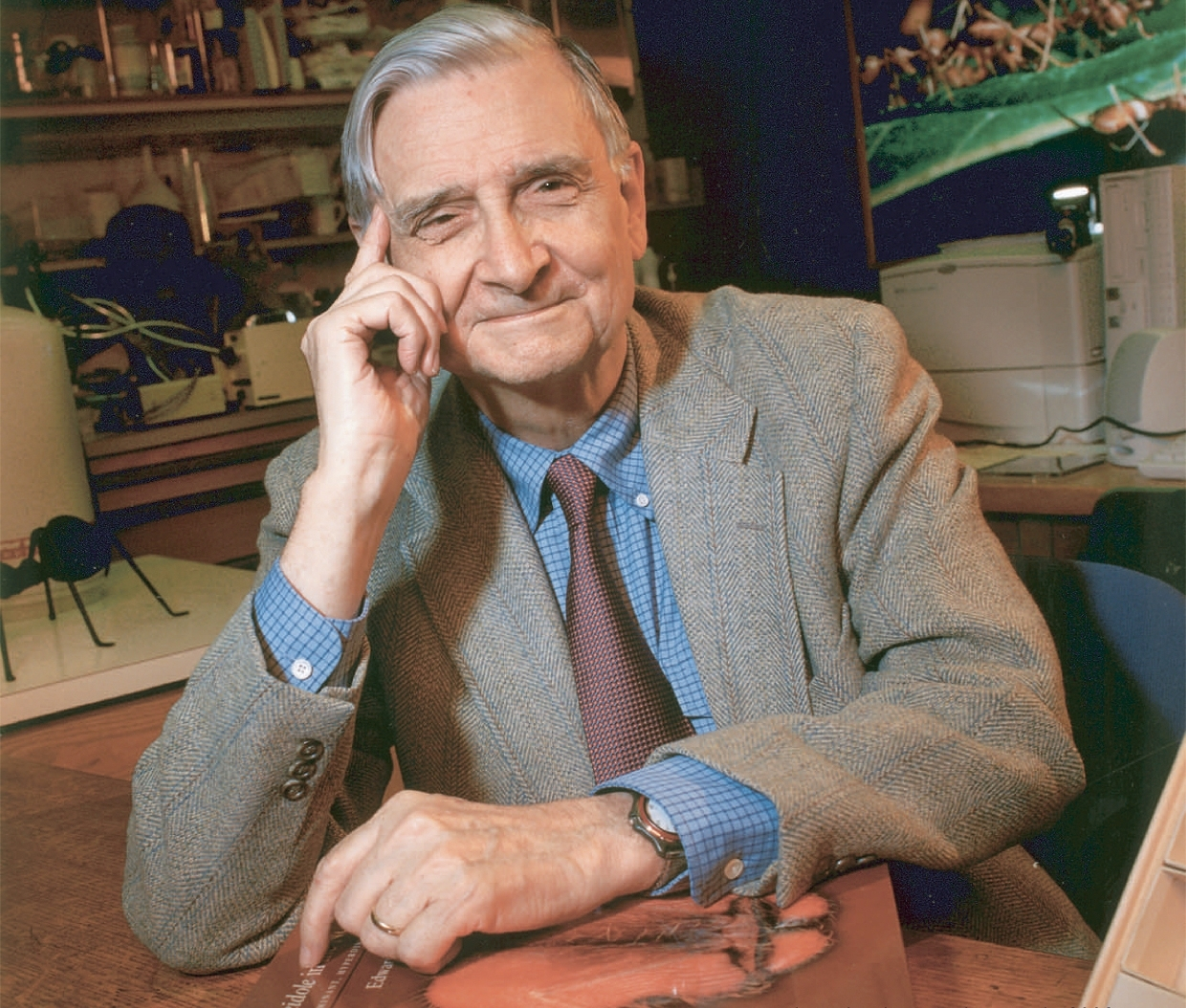 Portrait of E. O. Wilson