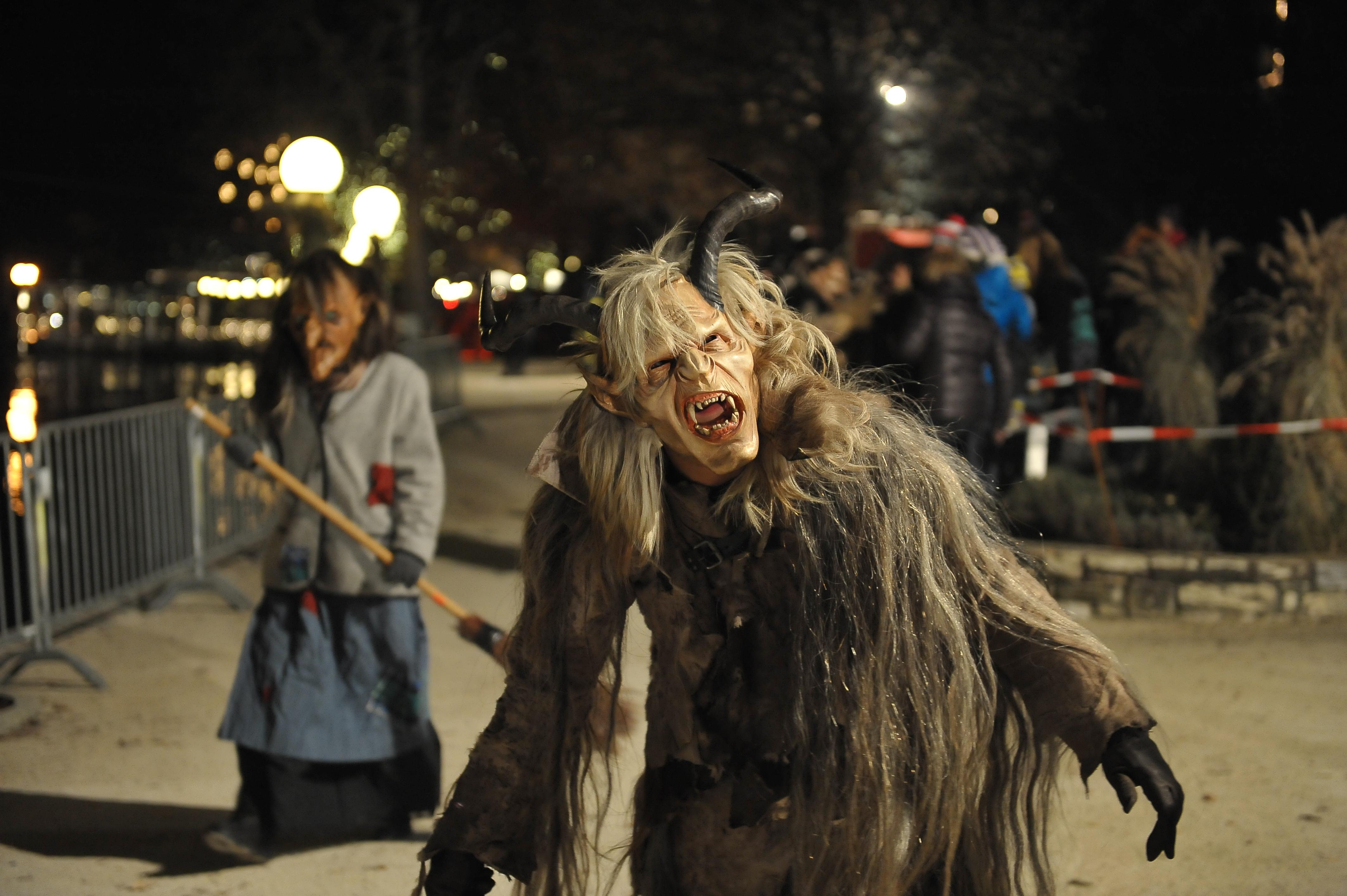 Halloween Costume Parade by Johann Jaritz