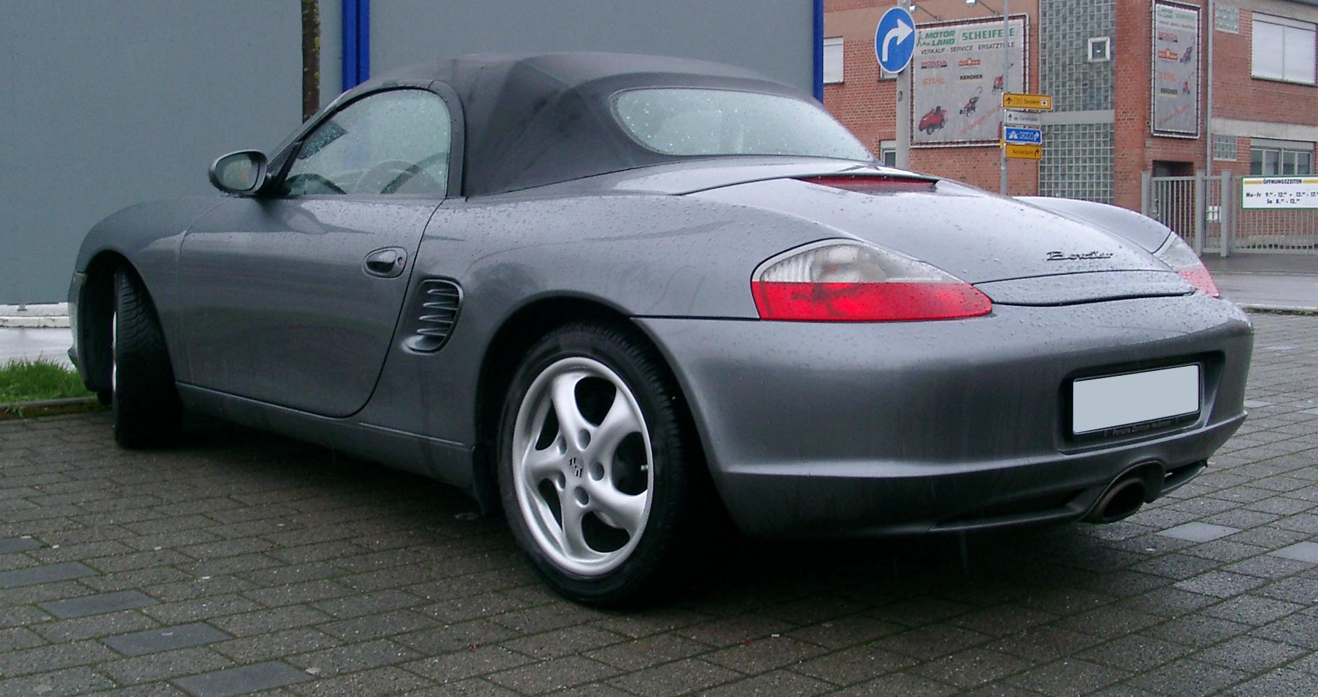 File:Porsche Boxster rear 20070323.jpg - Wikimedia Commons
