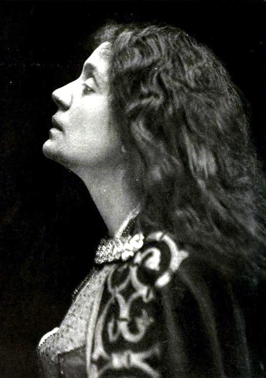 Portrait of Eleonora Duse