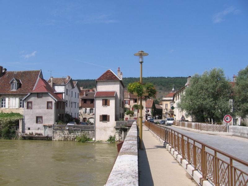 Quingey, Loue  bridge