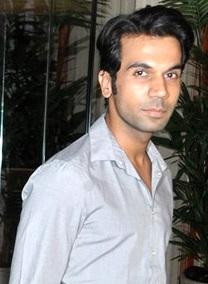 Rajkummar Rao looking at the camera