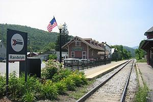 Randolph station (Vermont) Railway station in Randolph, Vermont