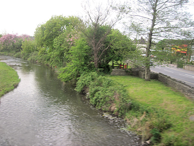 River Frome at Dorchester - geograph.org.uk - 1870893