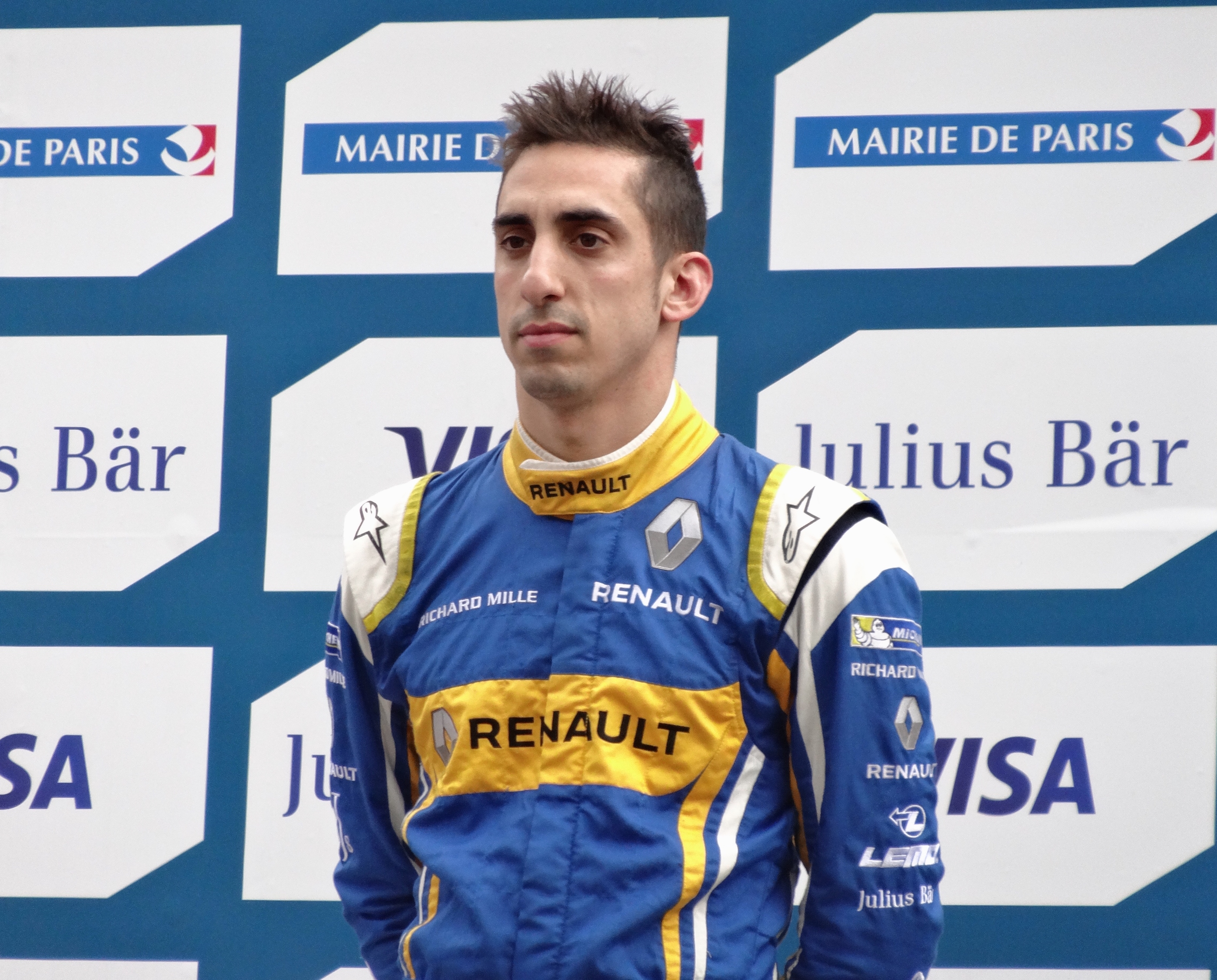 The 29-year old son of father (?) and mother(?) Sébastien Buemi in 2018 photo. Sébastien Buemi earned a  million dollar salary - leaving the net worth at 4 million in 2018