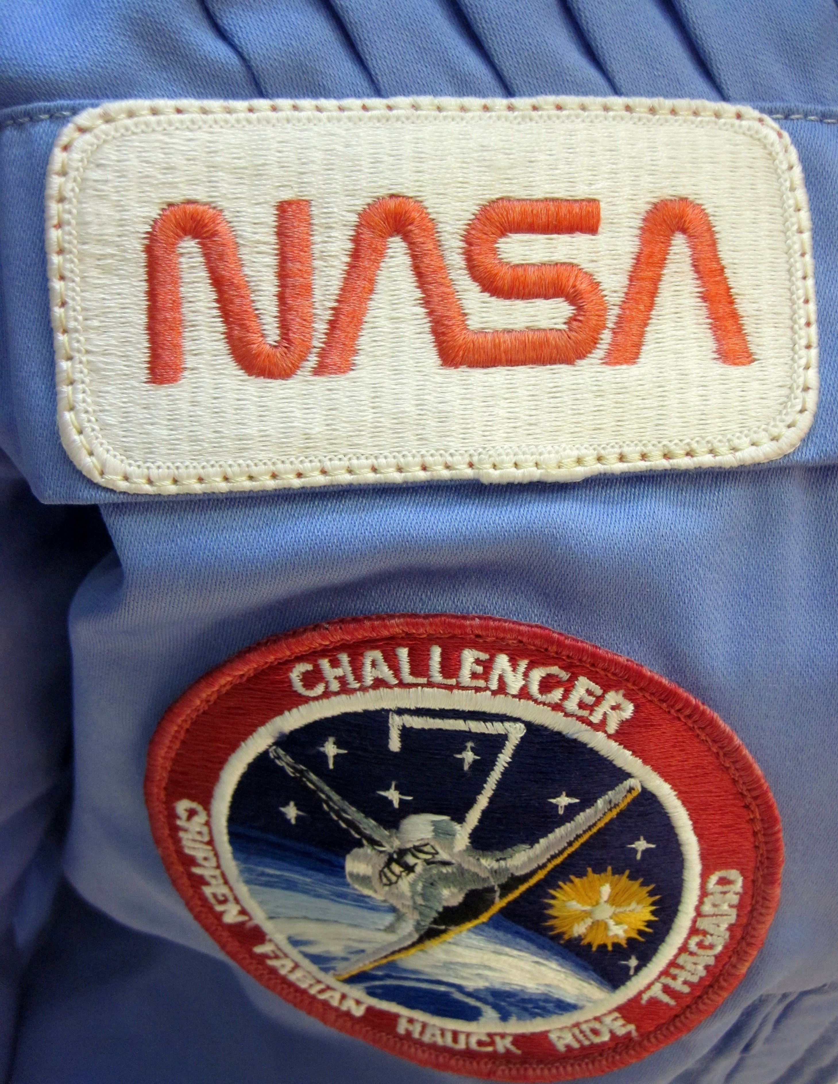 sally ride nasa name patch - photo #4