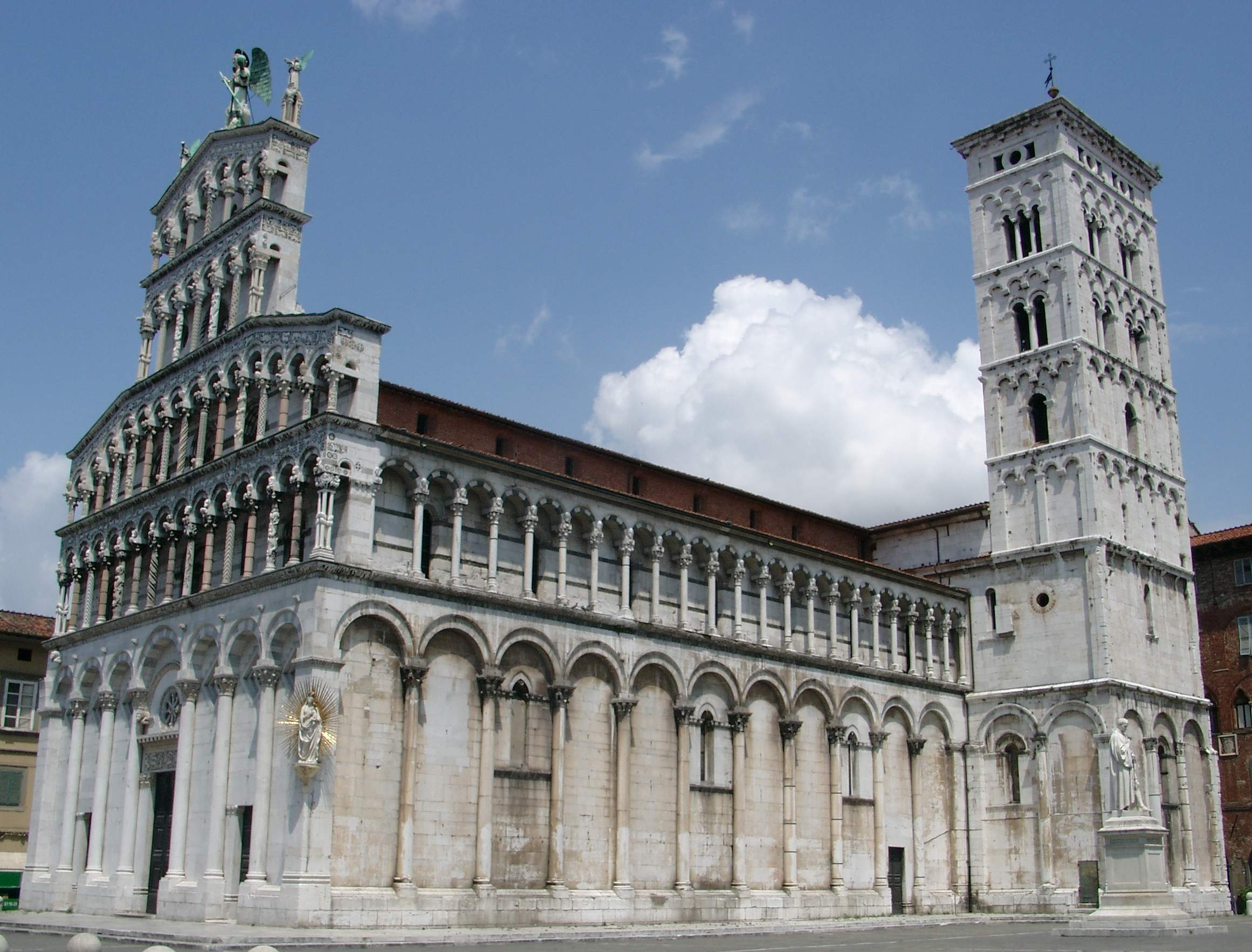 Kathedraal Van Lucca.Kerk San Michele In Foro Wikipedia