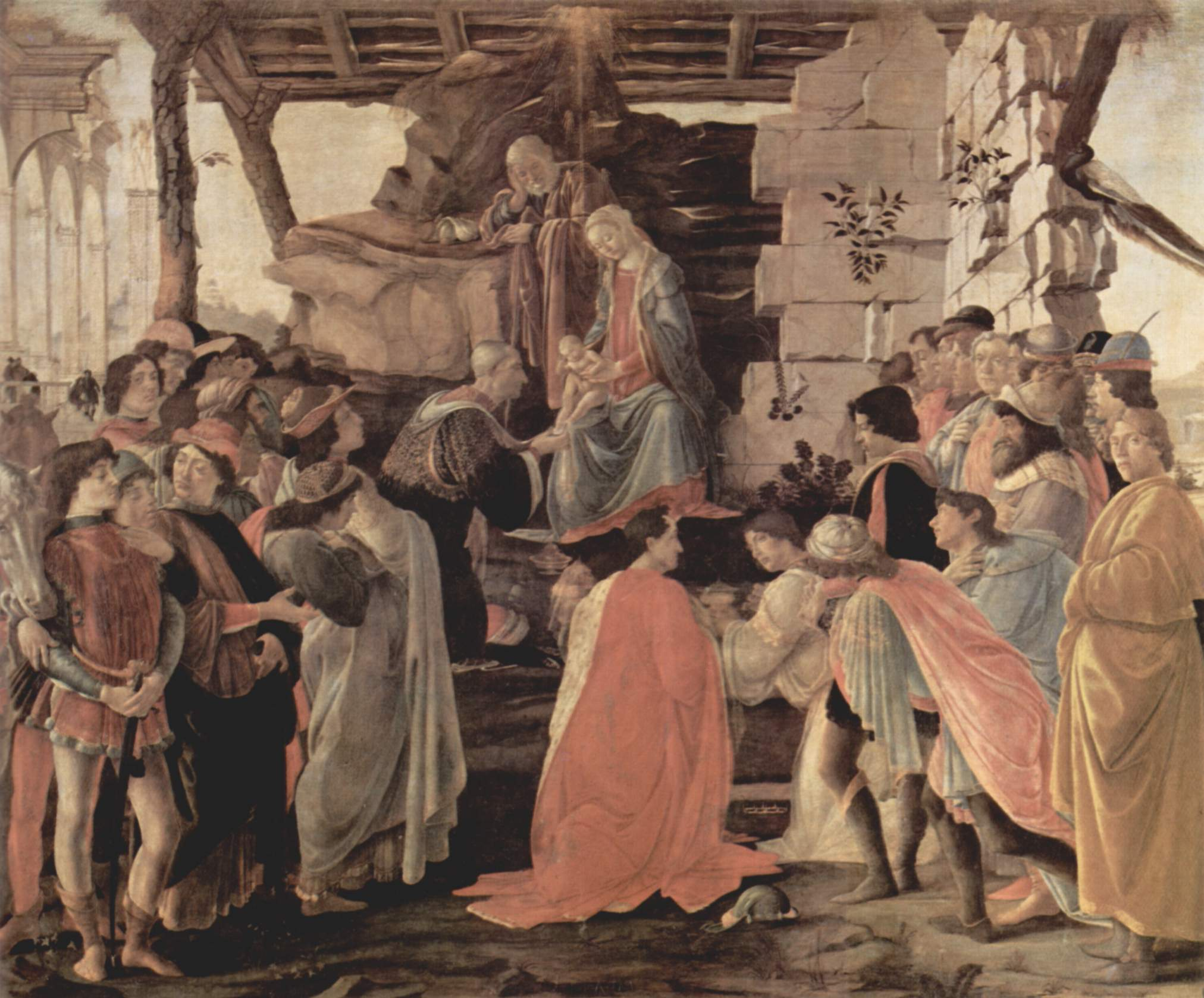 Christmas paintings and artwork annunciation shepherds for The giovanni