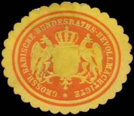 File:Siegelmarke Gr. Badische Bundesraths-Bevollmächtigte W0393815.jpg