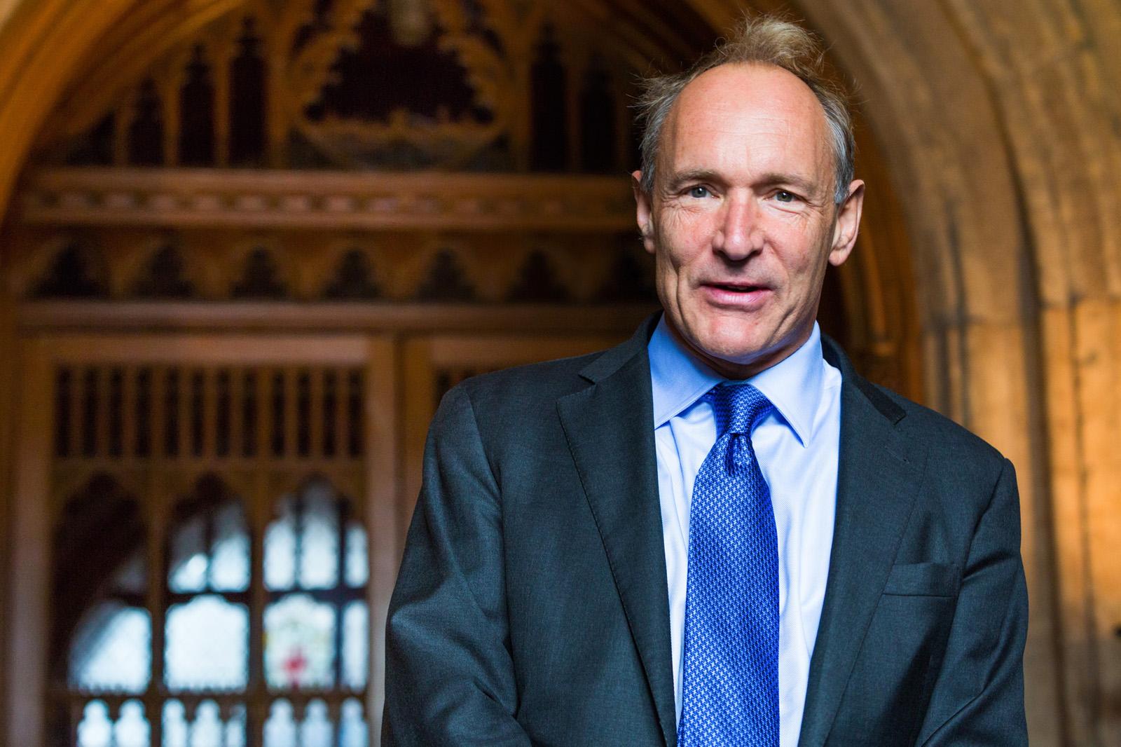 Depiction of Tim Berners-Lee