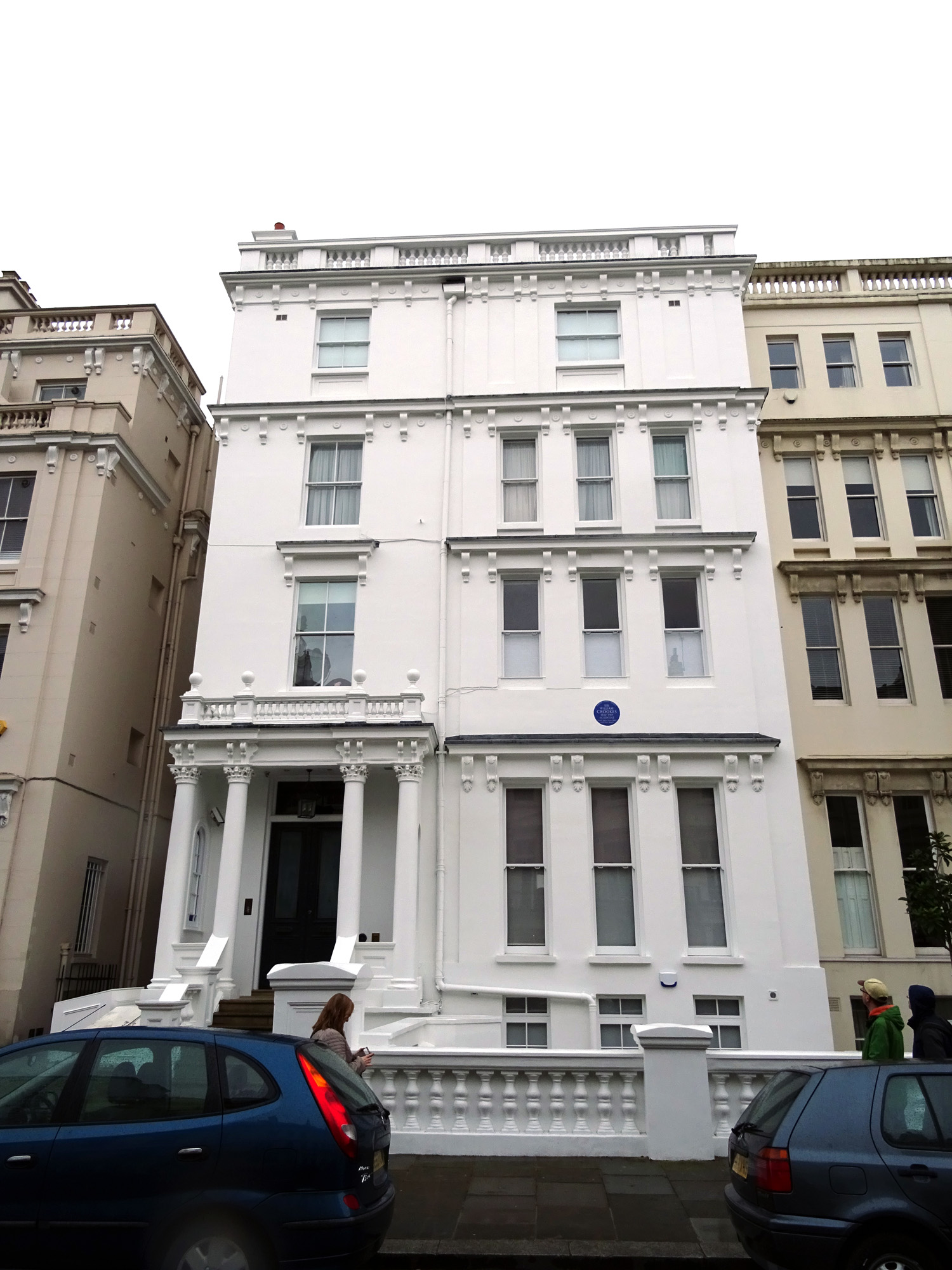 File:Sir William Crookes - 7 Kensington Park Gardens Notting Hill ...