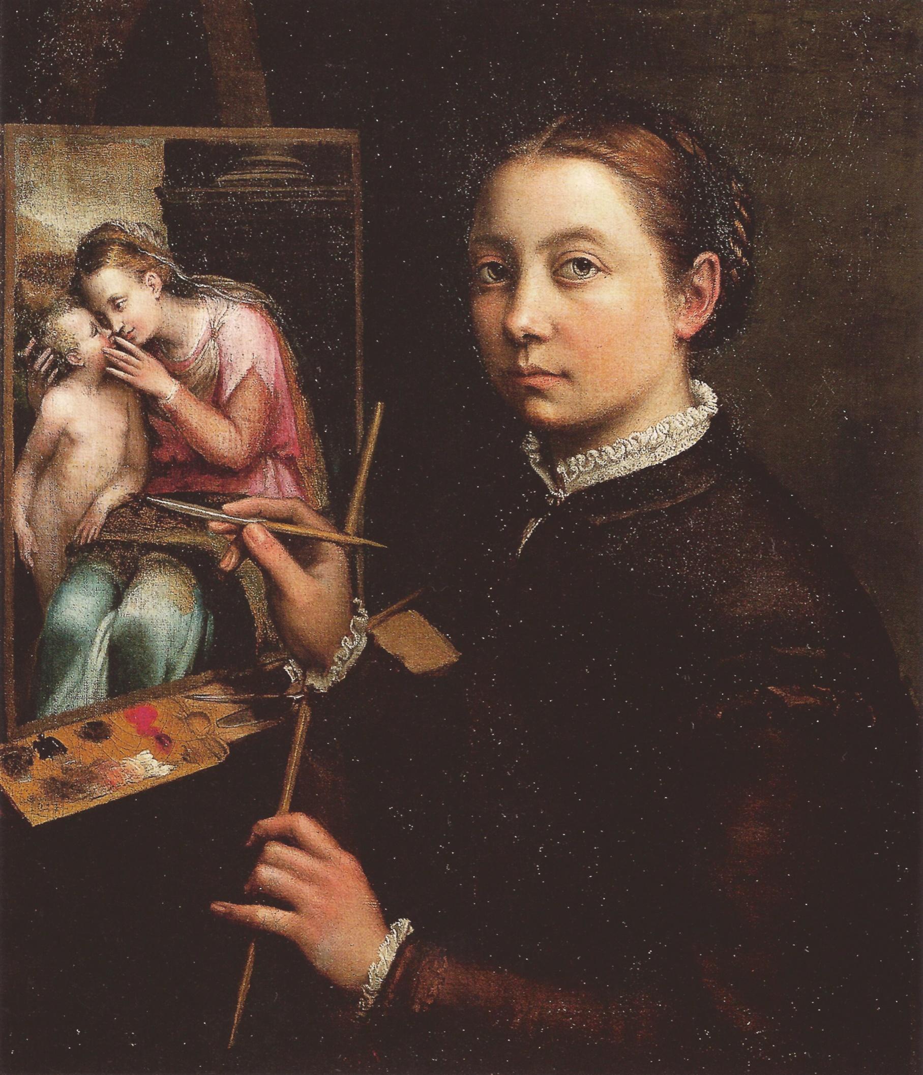 Sofonisba Anguissola (Self Portrait 1556)