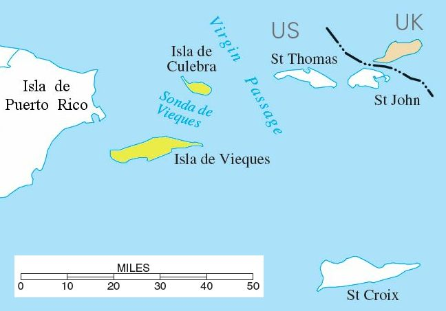 Palomino Island Map Spanish Virgin Islands   Wikipedia