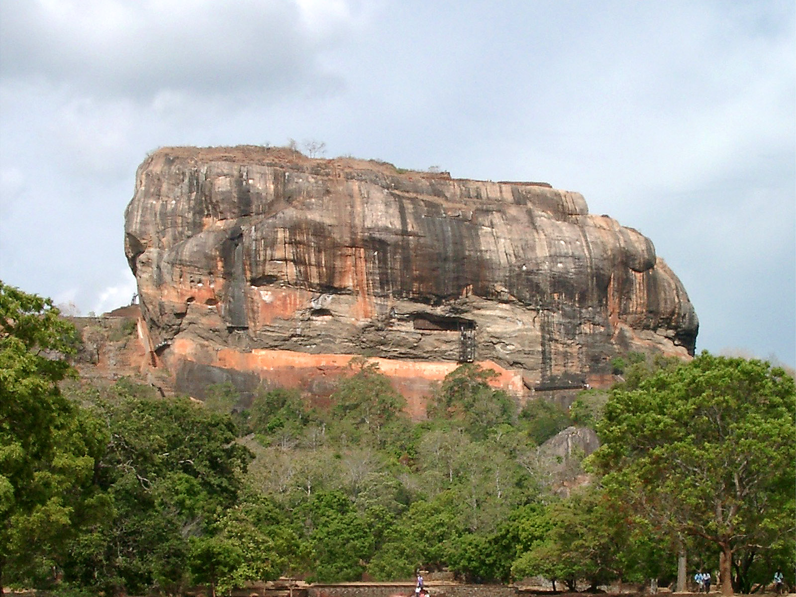 Sigiriya Sri Lanka  City pictures : Description Sri Lanka Sigiriya Rock
