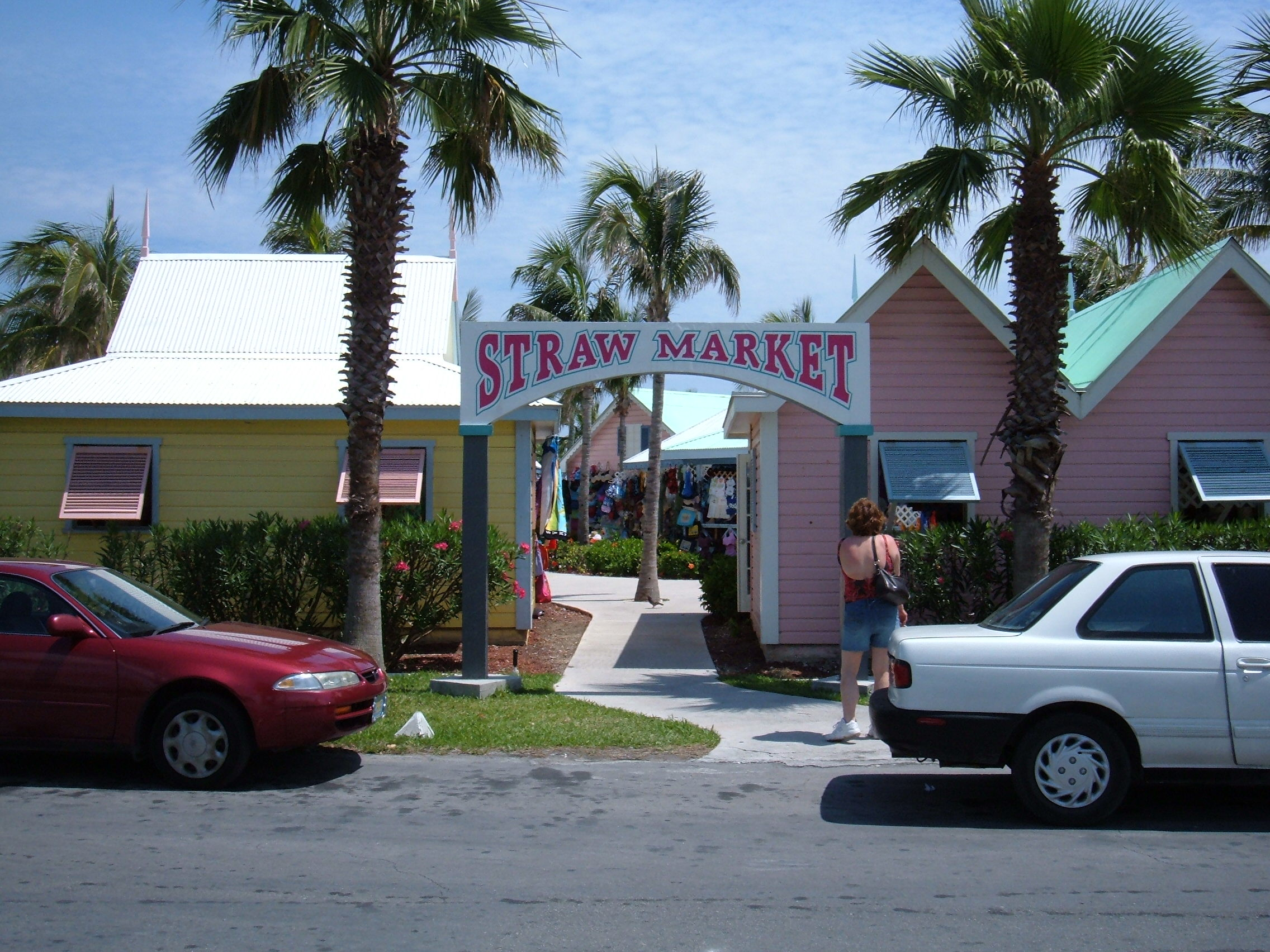File Straw Market Freeport Bahamas Jpg Wikimedia Commons
