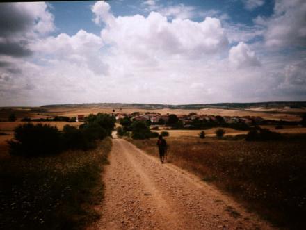 File:The Camino near Burgos.jpg