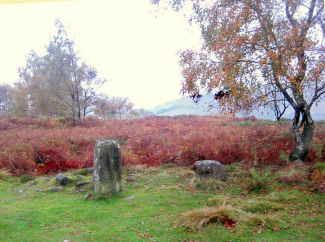 The main stone in Froggatt Stone Circle - geograph.org.uk - 584673