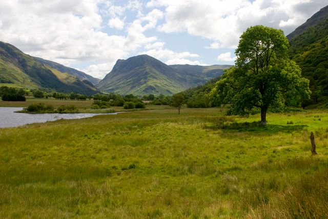 The shores of Crummock Water - geograph.org.uk - 549287
