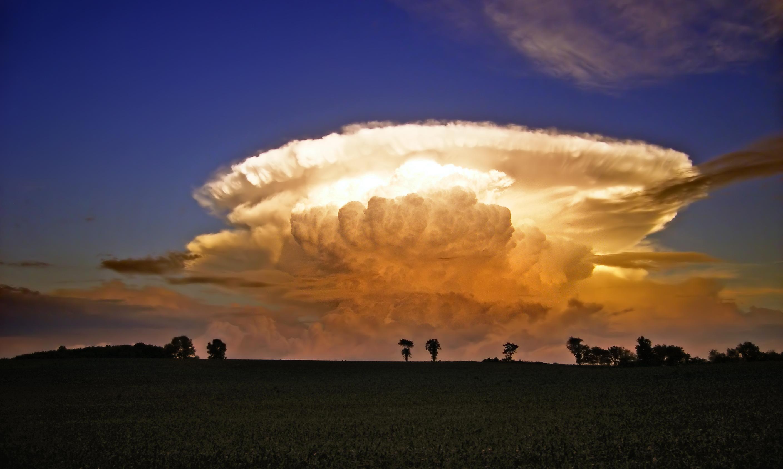 thunderhead clouds wallpaper - photo #17