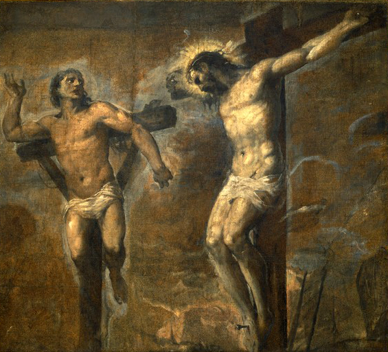 Titian - Christ and the Good Thief - WGA22832