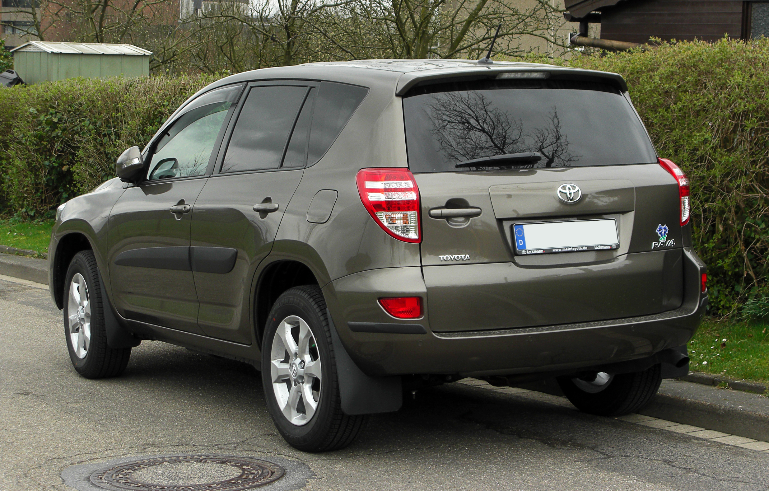 File Toyota Rav4 Iii 2 Facelift Heckansicht 1