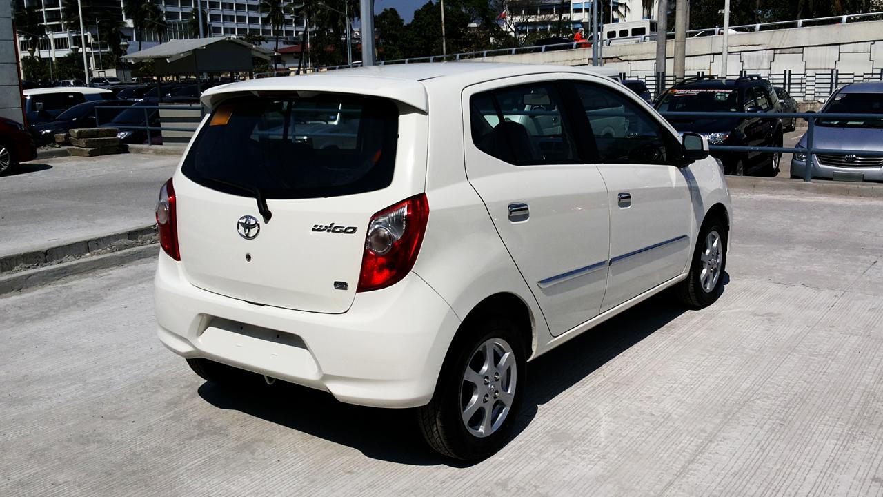 File Toyota Wigo G Right Rear Quarter Jpg Wikimedia