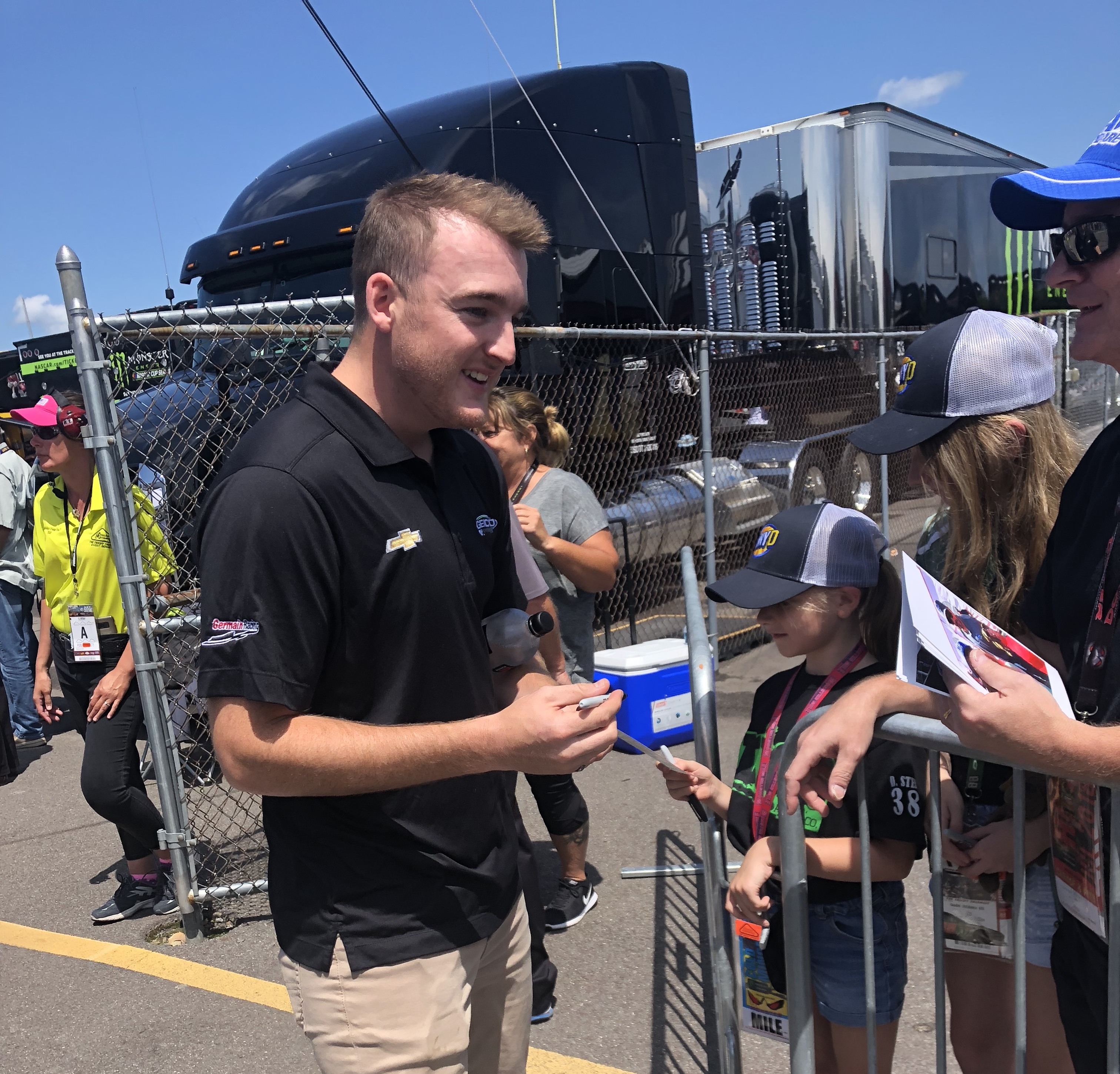 The 26-year old son of father (?) and mother(?) Ty Dillon in 2018 photo. Ty Dillon earned a  million dollar salary - leaving the net worth at 4 million in 2018