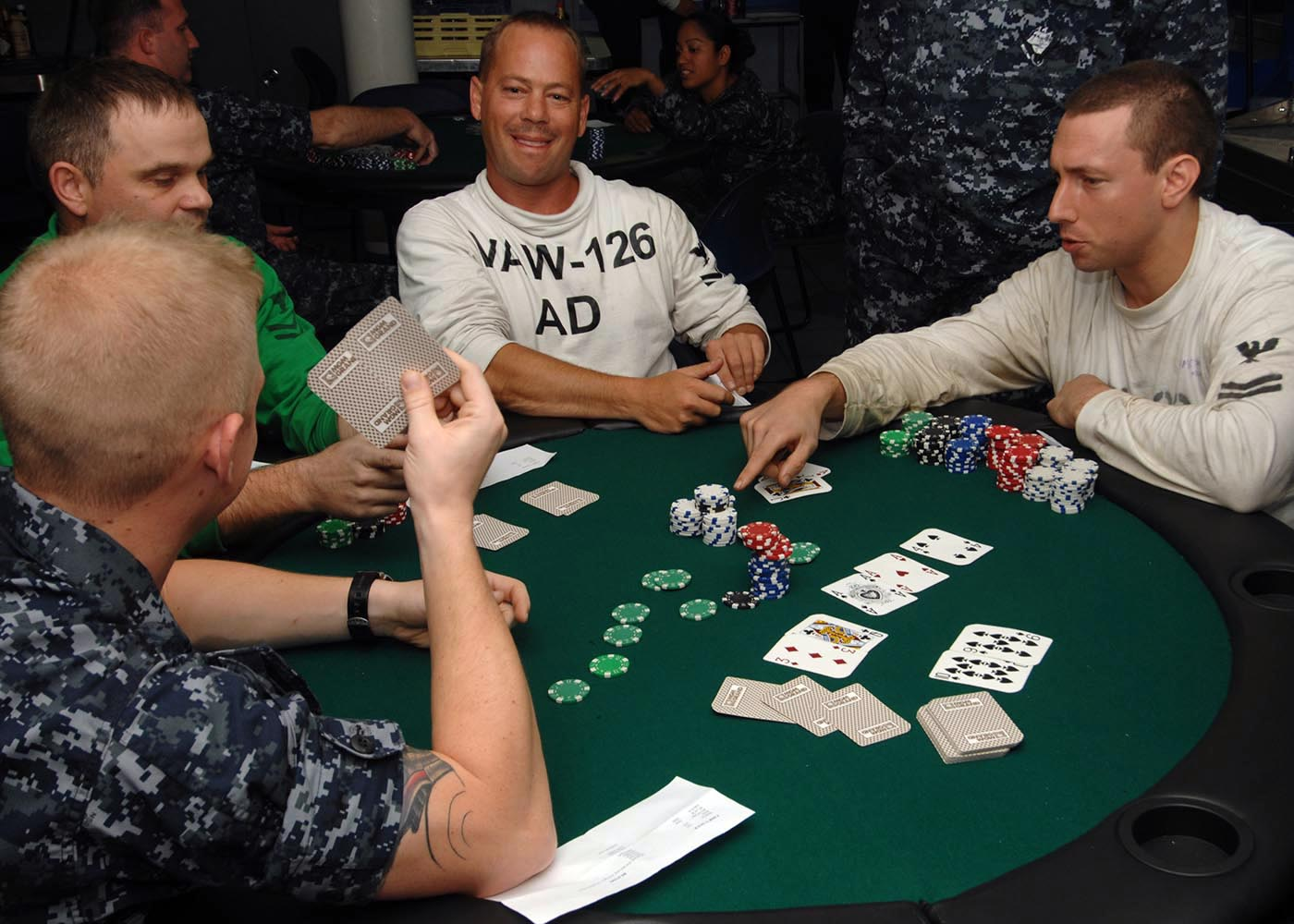 Picture of a game: Poker