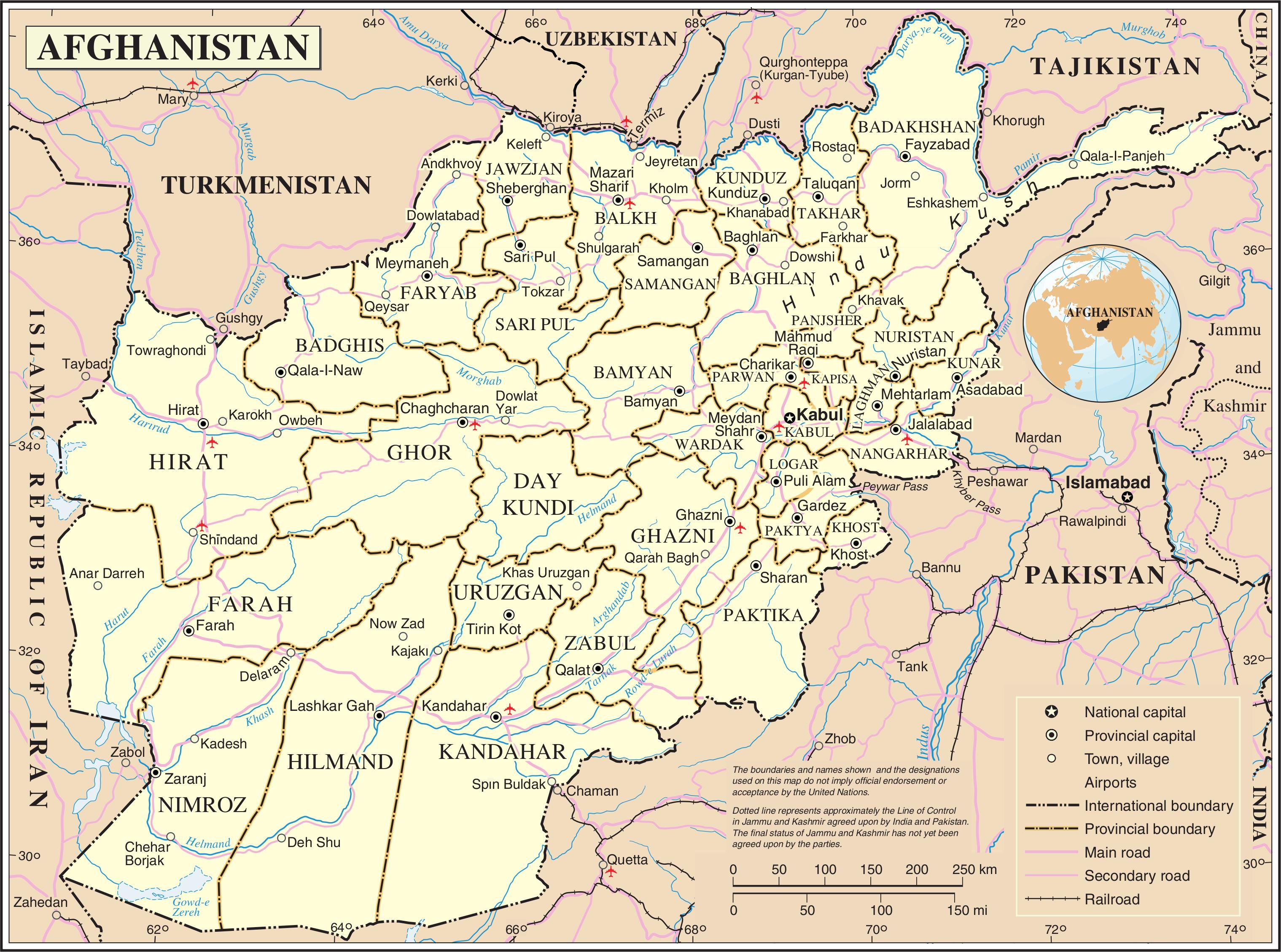 karta afghanistan File:Un afghanistan.png   Wikimedia Commons karta afghanistan